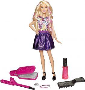 Muñeca Ondas y rizos Barbie