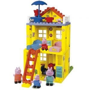 Casa de Peppa Pig de bloques de construcción
