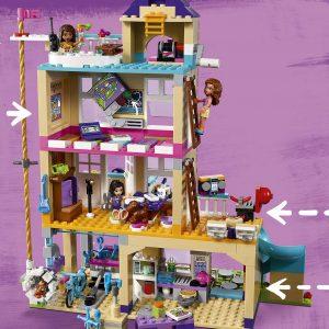 LEGO Friends Heartlake - Casa de la Amistad