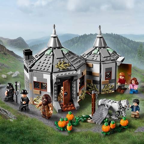 Cabaña de Hagrid Rescate de Buckbeak - Lego Harry Potter