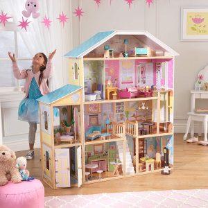 Casa de muñecas de madera Majestic Mansion de KidKraft