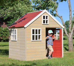 Casa de Juegos Infantil de Madera Nordic Villa para Exteriores
