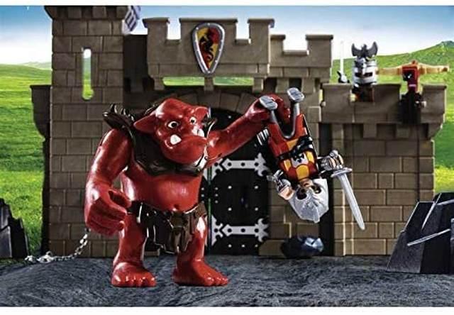 Puerta del Castillo con Troll - Playmobil Caballeros
