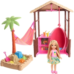 Cabaña de playa Barbie Chelsea