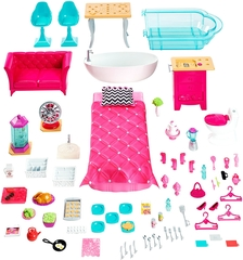 Casa de los sueños de Barbie accesorios
