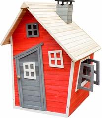Caseta de juegos infantil de madera