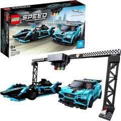 Coches de Lego - Jaguar Racing GEN2 y Jaguar I-PACE eTROPHY - LEGO Speed Champions