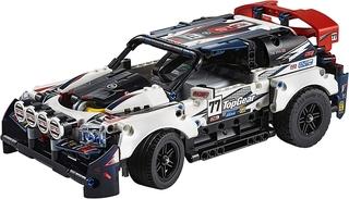 Coche de Rally Top Gear Controlado por App de Lego