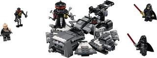 Transformación de Darth Vader - Lego Star Wars