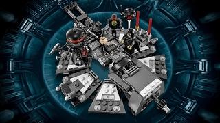 Transformación de Darth Vader de Lego Star Wars
