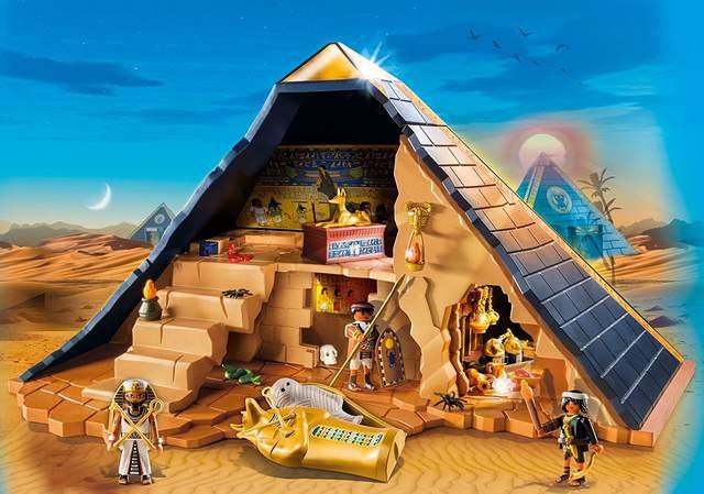 Pirámide del Faraón - Playmobil