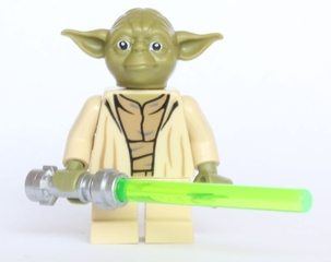 Figura Yoda - Lego Star Wars