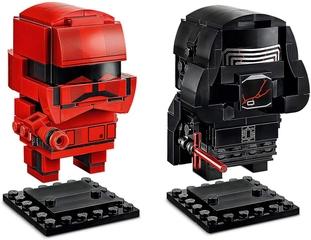 Figura Kylo Ren y Soldado Sith - Lego Star Wars