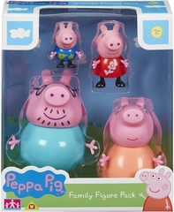 Pack 4 Figuras - Peppa Pig