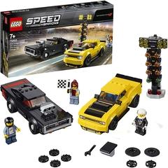 Coches de Lego - Dodge Challenger SRT Demon de 2018 y Dodge Charger R/T de 1970 - Lego Speed Champions