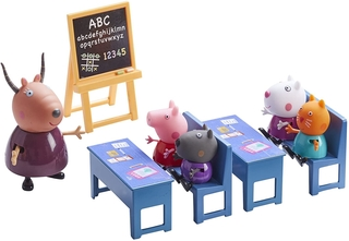 Set escuela - Peppa Pig