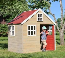 Casa de Juegos Infantil de jardín Nordic Villa para Exteriores