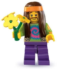 Figura Hippie Lego