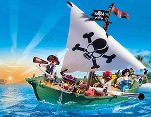 Barca pirata de Playmobil - 2.1
