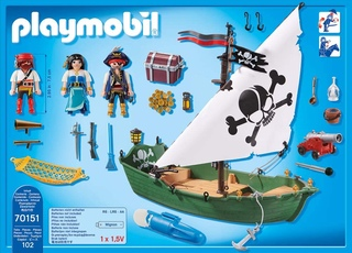 Barca pirata de Playmobil - 2.2