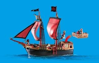 Barco Pirata Calavera - Playmobil Piratas - 1.2