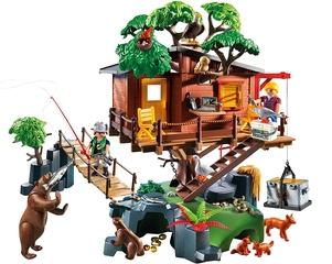 Casa del Árbol de Aventuras de PlayMobil
