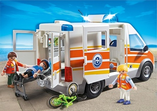 Ambulancia Guardacostas de Playmobil
