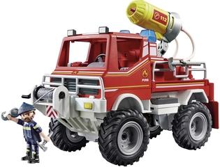 Camión Todoterreno de Bomberos con Efectos de Luz y Sonido – Playmobil