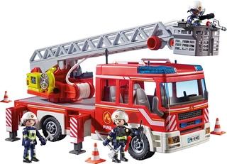 Camión de Bomberos con Escalera, Luces y Sonido – Playmobil