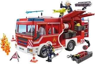 Camión de Bomberos con Luces y Sonido – Playmobil
