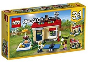 Casa Modular con Piscina de Lego