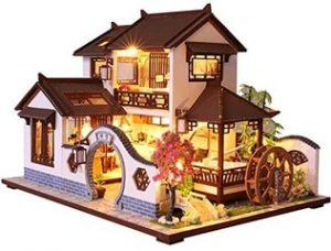 CUTEBEE - Casa de muñecas con Muebles