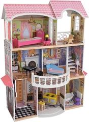 KidKraft- Magnolia Mansion con muebles y accesorios