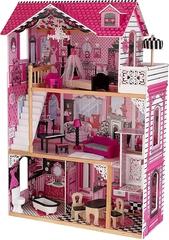 KidKraft- Casa de muñecas de madera con muebles y accesorios
