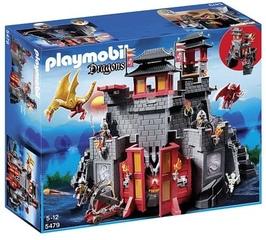 Gran Castillo del dragón asiático de Playmobil