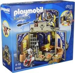 Cofre caballeros del tesoro de Playmobil