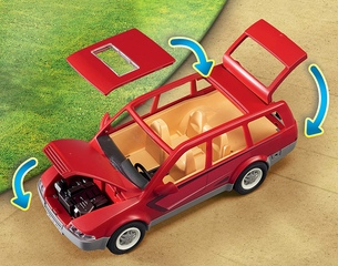Coche Familiar de Playmobil