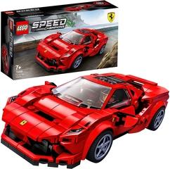 Ferrari F8 Tributo con Minifigura del Conductor de Lego