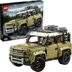 Land Rover Defender Coche 4x4 de Lego