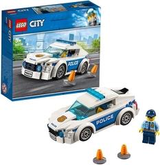 Coche Patrulla de La Policía de Lego