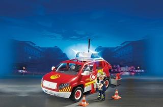 Coche de Bomberos con luces y sonidos – Playmobil