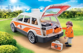 Coche de Emergencias con Sirena - Playmobil