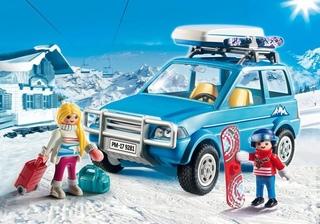 Coche familiar de Montaña de Playmobil