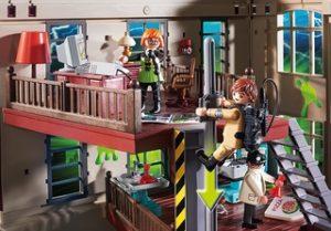 Cuartel de los Cazafantasmas – Playmobil