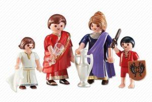 Familia Romana de Playmobil