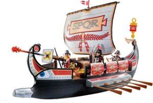 Galera Romana de Playmobil