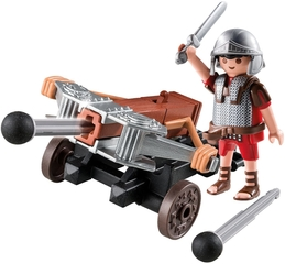 Legionario Romano con ballesta de Playmobil