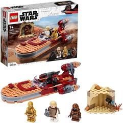 Speeder Terrestre de Luke Skywalker con Minifiguras de Luke y C-3PO - Lego Star Wars
