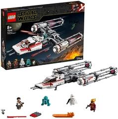 Caza Estelar Ala-Y de la Resistencia - Lego Star Wars