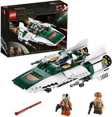 Caza Estelar Ala-A de la Resistencia - Lego Star Wars